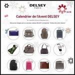 Calendrier de l'Avent Delsey sur Facebook : Un cadeau chaque jour à Gagner - anti-crise.fr