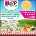 Tirage au Sort Bio à la Une : Coffret de 8 produits bio pour bébé à Gagner - anti-crise.fr