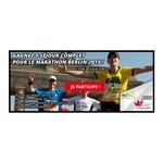 Tirage au sort Facebook Meltonic Un séjour complet pour le marathon de Berlin 2015 2