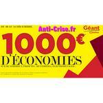 Chèquier de réductions Géant Casino du 10 au 24 décembre