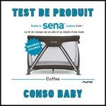 Test de produit Conso Baby : Lit voyage Sena Nuna - anti-crise.fr