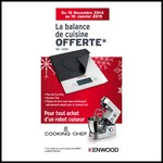 Bon Plan Kenwood : Balance de cuisine Offerte - anti-crise.fr
