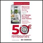 Offre de Remboursement Kenwood : 50 € sur Blender Blend-Pro - anti-crise.fr