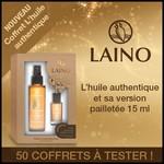 Test de Produit Beauté Test : Coffret L'huile authentique de Laino - anti-crise.fr