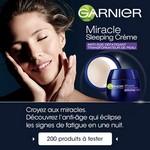 Test de Produit Beauté Test : Miracle Sleeping Crème de Garnier - anti-crise.fr
