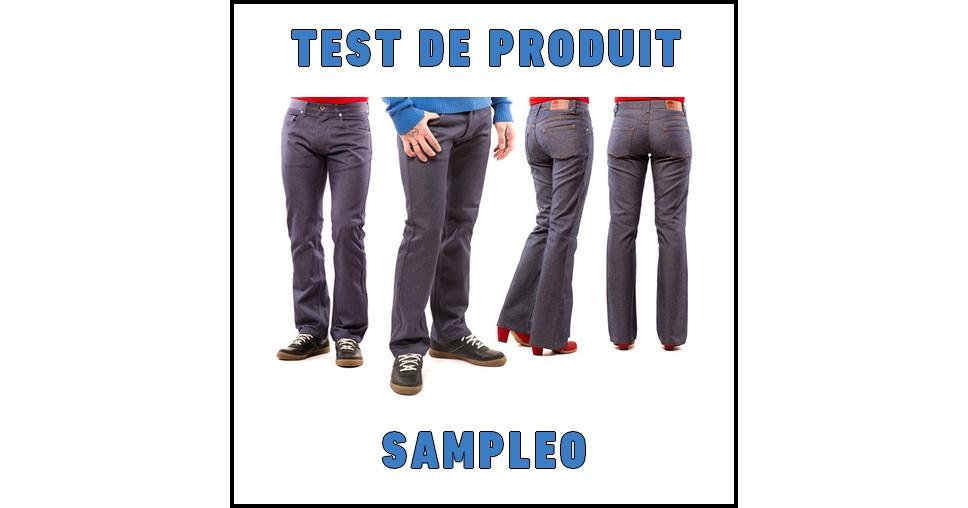 Test de Produit Sampleo : Jean 1083 pour Homme et Femme - anti-crise.fr