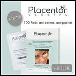 Test de Produit Beauté Test : Pads Yeux Anti-Cernes Anti-Poches de Placentor Végétal - anti-crise.fr
