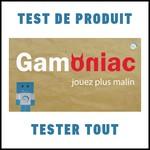Test de Produit Tester Tout : Jeu de votre choix avec Gomaniac - anti-crise.fr