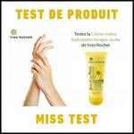 Test de Produit Miss Test : Crème hydratation longue durée de Yves Rocher - anti-crise.fr