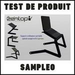 Test de Produit Sampleo : Support pour ordinateur Lapmate de Zenlap - anti-crise.fr