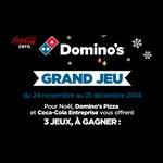 Calendrier de l'Avent Coca-Cola & Domino's Pizza - anti-crise.fr