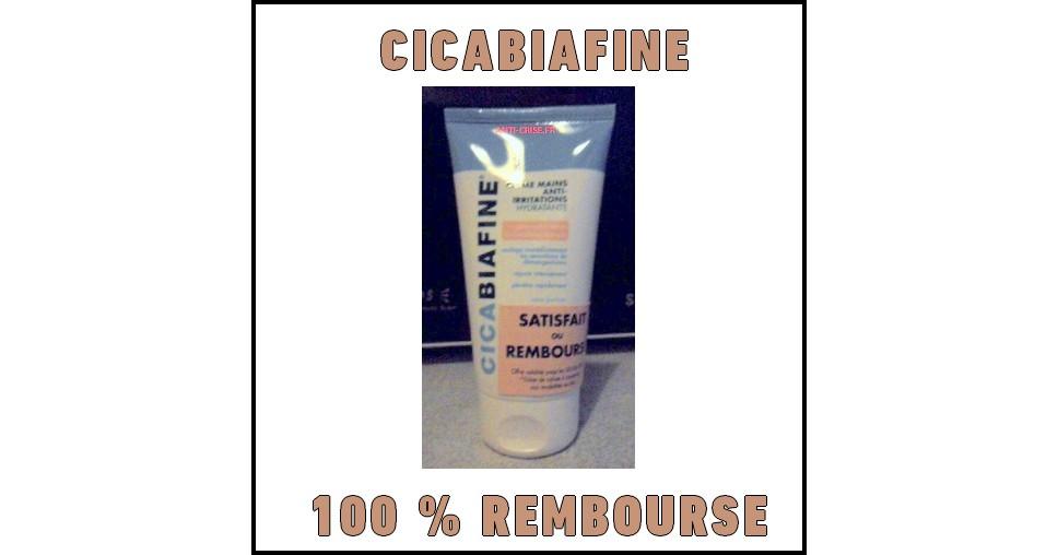 Offre de Remboursement (ODR) Cicabiafine : Crème Mains Anti-irritations Hydratante Satisfait ou 100 % Remboursée - anti-crise.fr