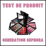 Test de Produit Génération Séphora : Palette Color Festival - anti-crise.fr