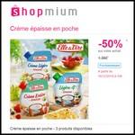 Offre de Remboursement (ODR) Shopmium : 50 % sur la Crème épaisse en poche Elle & Vire - anti-crise.fr