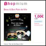 Offre de Remboursement (ODR) Shopmium : Beau & Bon Pain de Mie Harrys à 1 € - anti-crise.fr