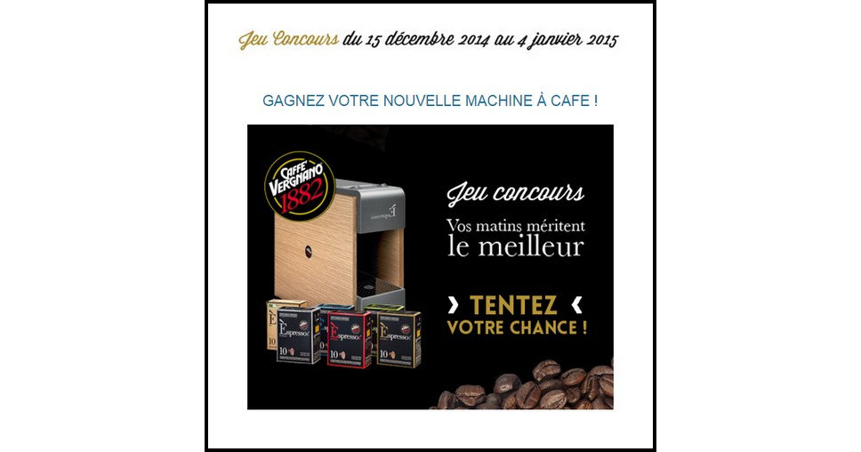 Instants Gagnants Confidentielles :  Machine à café Trè à Gagner - anti-crise.fr