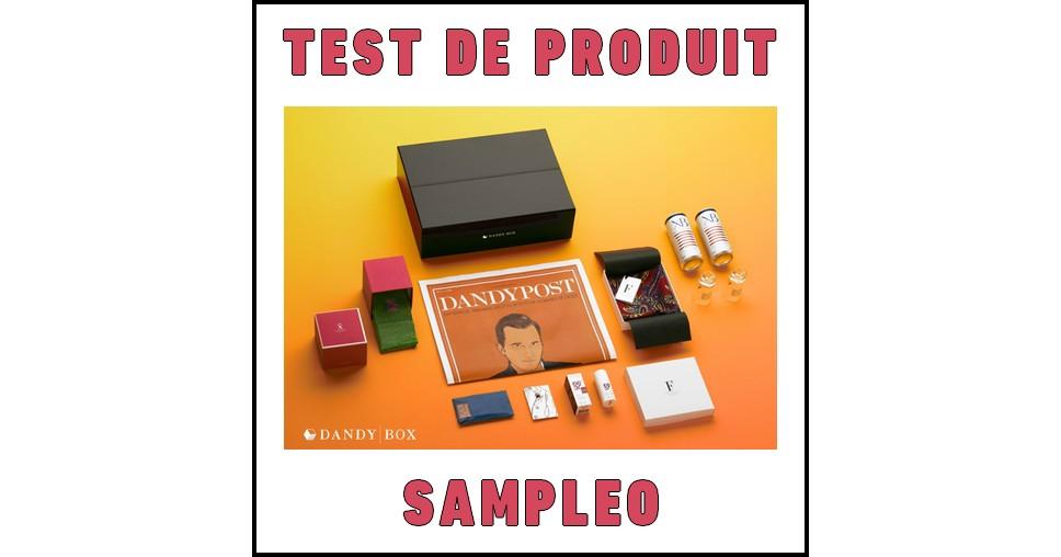 Test de Produit Sampleo : Box d'accessoires divers pour Homme DandyBox - anti-crise.fr