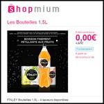 Offre de Remboursement (ODR) Shopmium : FÏNLEY Bouteilles 1,5L 100 % Remboursé - anti-crise.fr