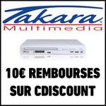 Offre de Remboursement (ODR) Takara : 10 € sur Lecteur DVD http://wp.me/p4pARy-55F - anti-crise.fr