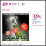 Offre de Remboursement (ODR) Shopmium : Jusqu'à 60 % sur la Bière Grolsch - anti-crise.fr