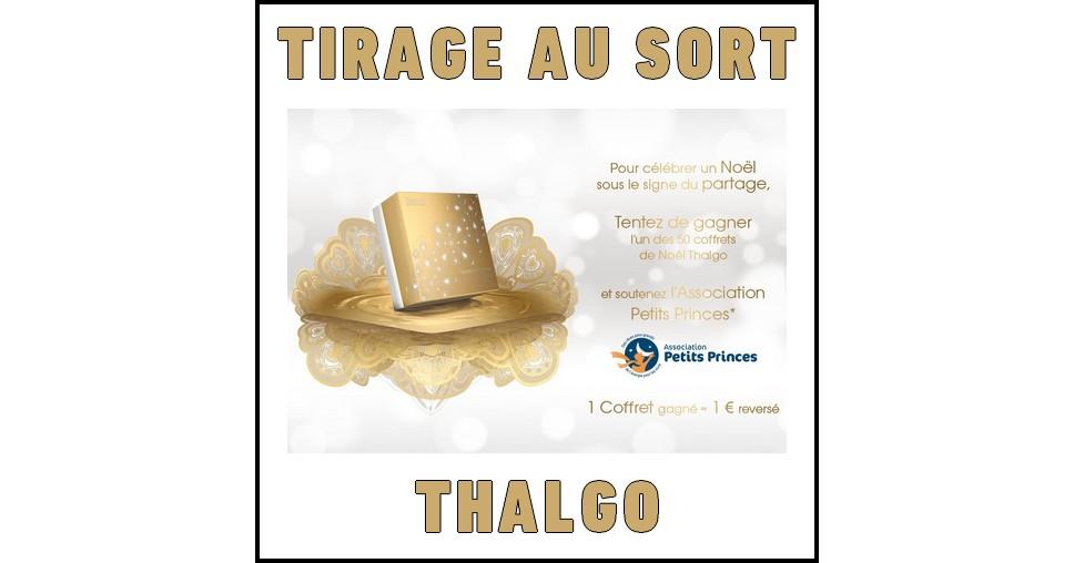 Tirage au Sort Thalgo : Coffret Hydratation à Gagner - anti-crise.fr