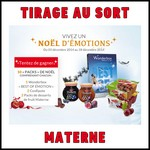 Tirage au Sort Materne : Pack de Noël à Gagner - anti-crise.fr