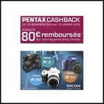 Offre de Remboursement (ODR) Ricoh : Jusqu'à 80 € sur Appareil Photo Pantax - anti-crise.fr