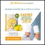 Instants Gagnants Confidentielles : Livre de Recettes Top 10 tartes au citron à Gagner - anti-crise.fr