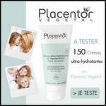 Test de Produit Beauté Test : Crème ultra-hydratante et régénératrice de Placentor Végétal - anti-crise.fr