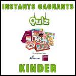 Instants Gagnants + Tirage au Sort Kinder : Coffret Repas Gastronomique à Gagner - anti-crise.fr