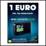 Offre de Remboursement (ODR) : Jusqu'à 98 € de remise sur Mini Coyote Plus - anti-crise.fr