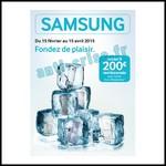 Offre de Remboursement (ODR) Samsung : Jusqu'à 200 € sur Réfrigérateur - anti-crise.fr