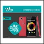Offre de Remboursement (ODR) Wiko : Jusqu'à 15 € sur Téléphone Sunset - anti-crise.fr