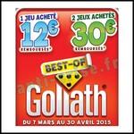 Offre de Remboursement (ODR) Goliath : Jusqu'à 30 € sur vos Jeux Préférés - anti-crise.fr