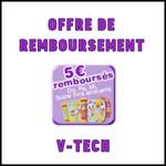 Offre de Remboursement (ODR) V-Tech : Do, ré, mi super livres enchantés - 5€ remboursés - anti-crise.fr