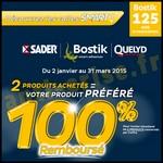 Offre de Remboursement (ODR) Sader / Bostik / Quelyd : 2ème Produit 100 % Remboursé - anti-crise.fr