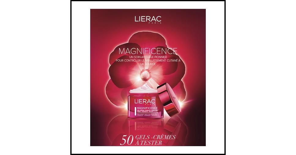 Test de Produit Beautistas : Gel-Crème fondant Magnificence Lierac - anti-crise.fr
