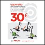 Offre de Remboursement (ODR) Polti : Jusqu'à 30 € sur Vaporetto - anti-crise.fr