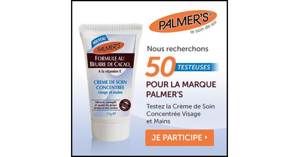 Test de Produit Betrousse : Crème de Soin Concentrée Visage et Mains, Palmer's - anti-crise.fr