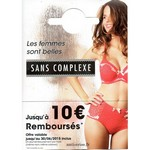 Offre de Remboursement (ODR) Sans Complexe : Jusqu'à 10 € Remboursés - anti-crise.fr