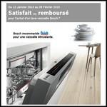 Offre d'Essai (ODR) Bosch : Lave-vaisselle Satisfait ou 100 % Remboursé - anti-crise.fr