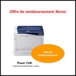 Offre de Remboursement (ODR) Xerox : 150 € sur Imprimante laser Couleur Phaser 7100 - anti-crise.fr