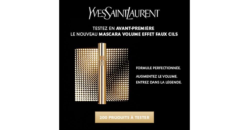 Test de Produit Beauté Test : Mascara Volume Effet Faux Cils Yves Saint Laurent - anti-crise.fr