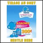 Tirage au Sort Nestlé Bébé : Chéquier de 30 bons d'achat de 10 euros à Gagner - anti-crise.fr