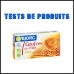 Tests de Produits : Gaufres au miel Bio Bjorg - anti-crise.fr