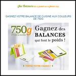 Instants Gagnants Confidentielles : Balance de cuisine électronique 750 Grammes - anti-crise.fr