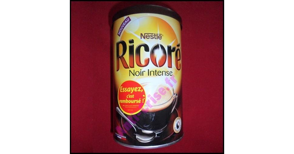 Offre de Remboursement (ODR) Nestlé : Ricoré Noir Intense 100 % Remboursé - anti-crise.fr