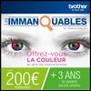 Offre de Remboursement (ODR) Brother : Jusqu'à 200 € sur Imprimante Couleur - anti-crise.fr