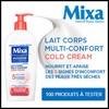 Test de Produit Beauté Addict : Lait corps Multi-Confort Cold Cream Mixa - anti-crise.fr