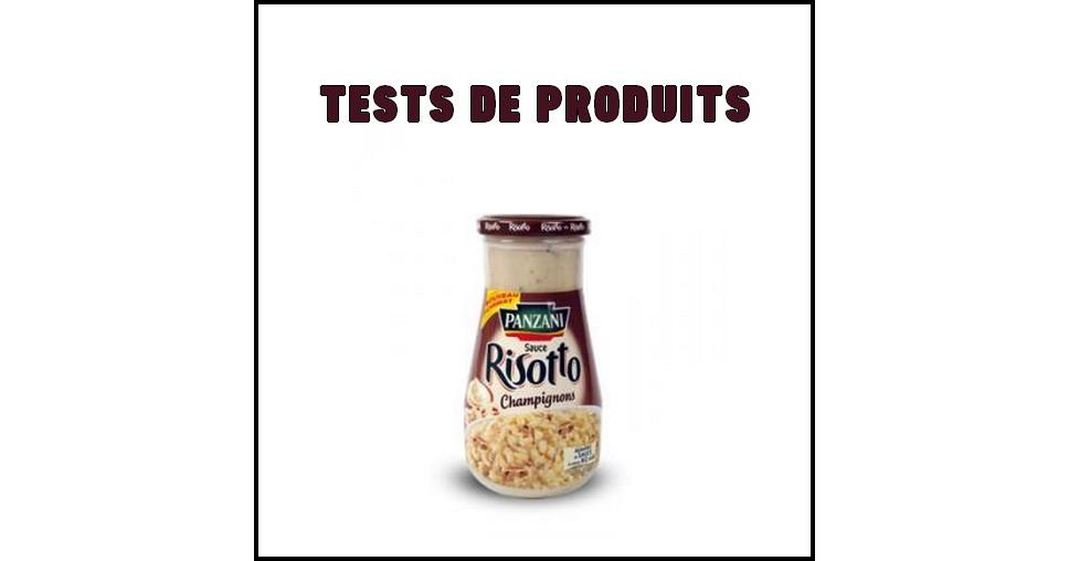 Tests de Produits : Sauce Risotto de Panzani - anti-crise.fr